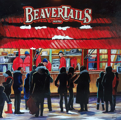 Cold Night for Beavertails!